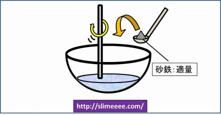 砂鉄スライムの作り方_02