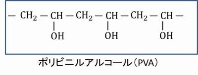 PVAの化学式